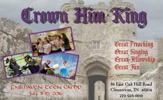Teen Camp Flyer