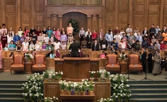 Fairhaven Baptist Church Easter Program (1 of 8)